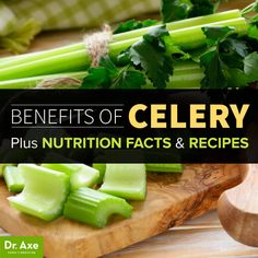 10 Benefits of Celery + Nutrition Facts and Recipes - Dr. Axe