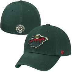 8b96084fd1107 Men s Minnesota Wild  47 Green Franchise Fitted Hat