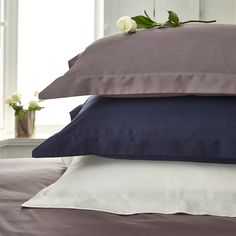 Egyptian Cotton Sateen Hotel Classic 300 Thread Bedlinen COLOURS - IVORY