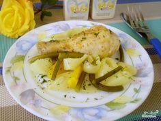 Курица с овощами на пару - пошаговый кулинарный рецепт с фото на Повар.ру