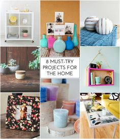 8 Must-Try Projects for the Home - The Crafted Life