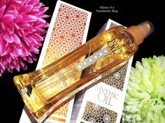 Tame dry, frizzy, damaged hair with the new Mythic Oils by Loreal!