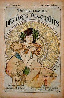 AlphonsemMucha. Dictionary of decorative arts by mpt.1607, via Flickr