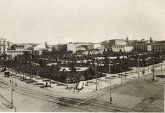 Plaza de España, década de 1920.