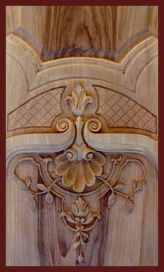 Relief wood carving 5