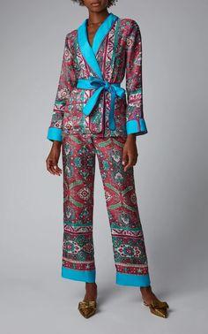 For Restless Sleepers x Cabana Limited Edition Printed Jacket – Cabana Magazine Kimono Fashion, Fashion Outfits, Fashion Trends, For Restless Sleepers, Camille, Business Dresses, Denim Top, Print Jacket, Lounge Wear