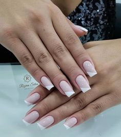 Gel Manicure Designs, Manicure Colors, Manicure And Pedicure, Nail Art Designs, Gel Nails, Acrylic Nails, Bright Pink Nails, Nail Designer, Sparkle Nails