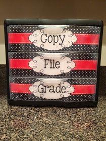 2nd Grade Snickerdoodles: File Drawer Label Freebie