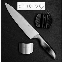 Chef Knife - Kitchen Knife 8 Inch Chef's Knife German High Carbon Stainless Steel Knife with Ergonomic Handle, Ultra Sharp, Best Choice for Home Kitchen & Restaurant inch) Japanese Kitchen Knives, Thing 1, Specialty Knives, Professional Chef, Chef Knife, Multifunctional, Cutlery, Steel, Flatware