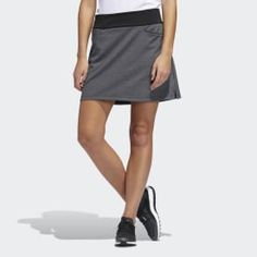 adidas Play through on warm days in this golf skort. Built-in shorts wick moisture for quick evaporation to keep you cool from first tee to last hole. The stretchy poly-blend matches every move for an unrestricted feel through your swing. Tennis Skort, Golf Outfit, Black Adidas, Warm Weather, Street Wear, Mini Skirts, Outfits, Shopping, Dresses
