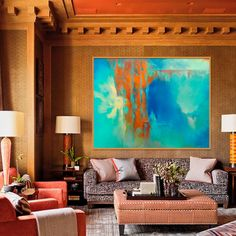 Large Painting Abstract Painting Original Abstract by Artoosh