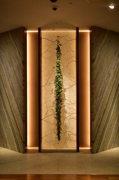 Gallery | Naoki Sasaki Design Entrée, Niche Design, Wall Decor Design, Lobby Design, Ceiling Design, Lobby Interior, Apartment Interior Design, Interior Decorating, Corridor Design