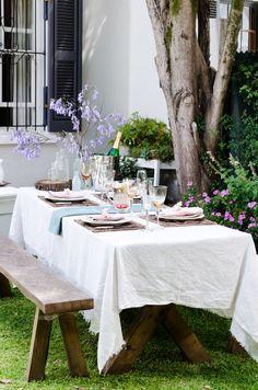 6 tips to make your summer garden party pretty - http://www.decorationarch.com/interior-design-ideas/6-tips-to-make-your-summer-garden-party-pretty.html