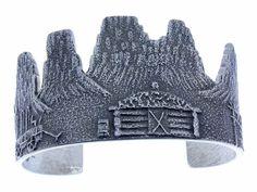 Image result for monument valley silver stamped bracelet