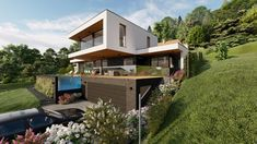 HAUS FCS | AL Architekt Croatia, Shed, Outdoor Structures, House, New Construction, Architecture, Homes, Home, Haus