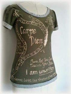 Tutorial - Upcycled Bleach T-Shirt