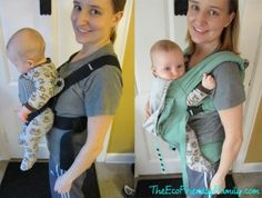 Wrong way! HIPS HIPS HIPS!  When a baby is facing forward, there is no support around the knee or thighs.  They are simply 'dangling' from the crotch.  With no support, the hips can slip out of socket. I love Lucy: Baby carriers 101