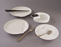 Grooveware by Takito co. tableware from CRIBCANDY - a gallery of hand picked houshold and interior design items from magazines and webogs, every day