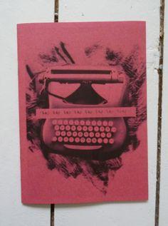"""tap tap tap tap tap tap taap"" by Charlie Collis via Salford Zine Library"