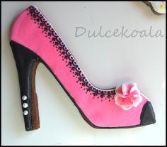 Gelleta decorada zapato d etacón
