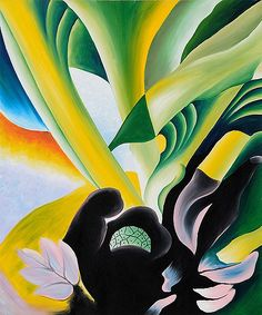 Skunk Cabbage by Georgia O'Keeffe, 1927