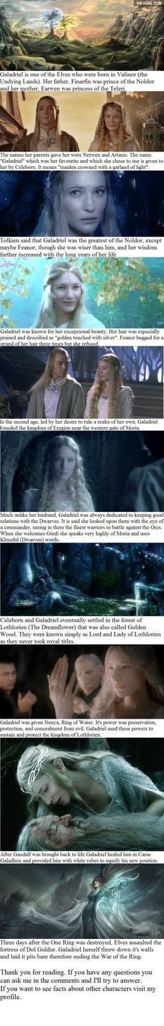 10 Galadriel facts you may not have known