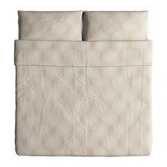 NATTLJUS Duvet cover and pillowcase(s) - King - IKEA