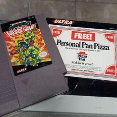 On instagram by dee_el_see #nes #microhobbit (o) http://ift.tt/1PQZWMg GO GET SOME FUCKIN PIZZAAAAA!!!! #cowabunga #TMNT  #Nintendo #Ninjaturtles #pizza #pizzatime #bigapple3am