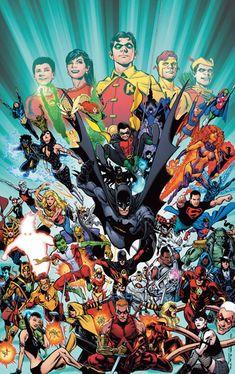 Phil Jimenez batman | Teen Titans #100 (Phil Jimenez Variant Cover)