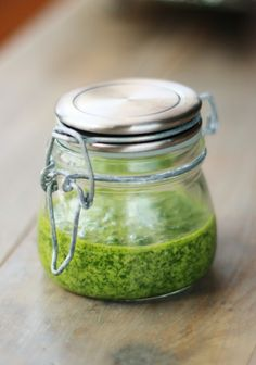 This scrumptious pesto has a surprise (protein-packed) ingredient!
