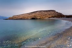 Matala Beach by andrant from http://500px.com/photo/200373375 - Matala beach in Crete Island Greece. More on dokonow.com.
