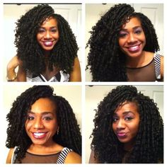 Valentine's Day Look: Crochet Braids with Long Biba Soft Dread Hair