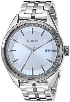 Nixon Women's 'Minx' Quartz Stainless Steel Automatic Watch, Color:Silver-Toned (Model: A9342363-00) *** Click image to review more details.