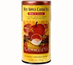 Hot Apple Cider Tea von The Republic of Tea