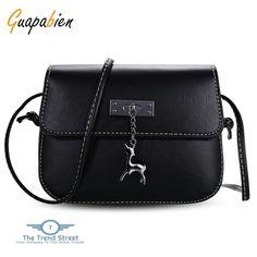 9d43c5f91c Guapabien Women Small Deer Flap Shoulder Crossbody Bag