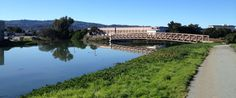 San Francisco Bay Trail at Colma Creek