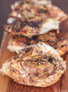 Slow Cooker Chicken Breasts - moist and flavorful chicken in the slow cooker