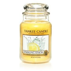 Sparkling Lemon. Berusande söt Meyer-citron med antydningar av energirik citruslime och bergamottapelsin. http://www.yankeecandle.se/ProductList.aspx?FragranceID=8