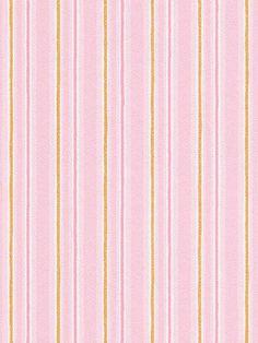 Rasch Pink and Gold Pin Stripe Wallpaper