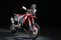 Honda CRF450 Rally: pronta per Dakar 2014