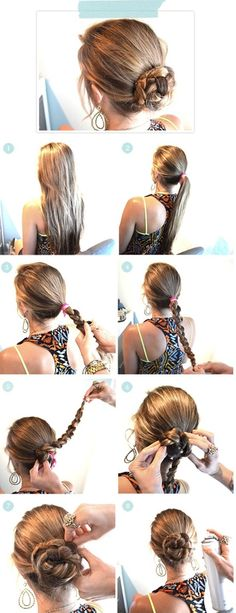Super Easy Hairstyles Steps For Summer | trends4everyone