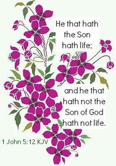 Rosamaria G Frangini   BeingAWoman   1 John 5:12 KJV
