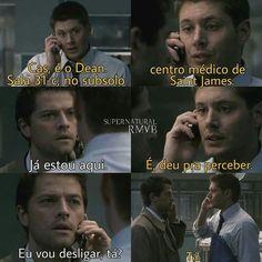 Esse Castiel foi o melhor Supernatural Impala, Supernatural Series, Dean Castiel, Winchester, Spn Memes, Little Memes, Misha Collins, Destiel, Funny Moments