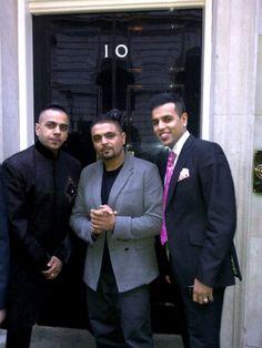 H-Dhami Wedding | Flicks: Rishi Rich, H Dhami & Juggy D At 10 Downing Street! | brit ...