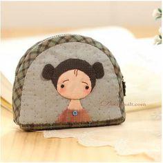 锦瑟无弦玉生烟_新浪博客 Japanese Patchwork, Patchwork Bags, Quilted Bag, Applique Fabric, Applique Patterns, Patch Quilt, Fun Crafts, Diy And Crafts, Diy Purse