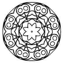 Mandala de cerejas