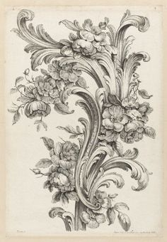 acanthus-leaf-design-2, stunning ink inspiration! would love to get this on my thigh hehehehe
