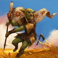 Fantasy Rpg Games, Fantasy Races, Fantasy Characters, Fantasy Art, Goblin Art, Goblin King, Dark Souls, Character Concept, Character Art