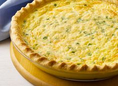 AllWhites and Better'n Eggs: Canadian Bacon and Cheddar Quiche Recipe