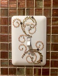 Decorative Switch plate # decorative sticker